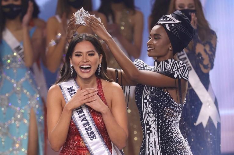 """Титул """"Мисс Вселенная"""" взяла конкурсантка из Мексики"""