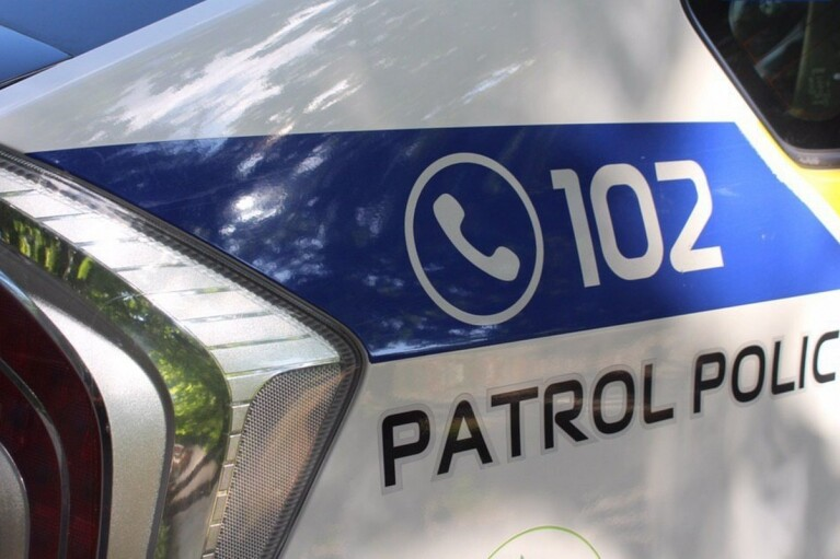 В Киеве патрульные остановили пьяного водителя маршрутки
