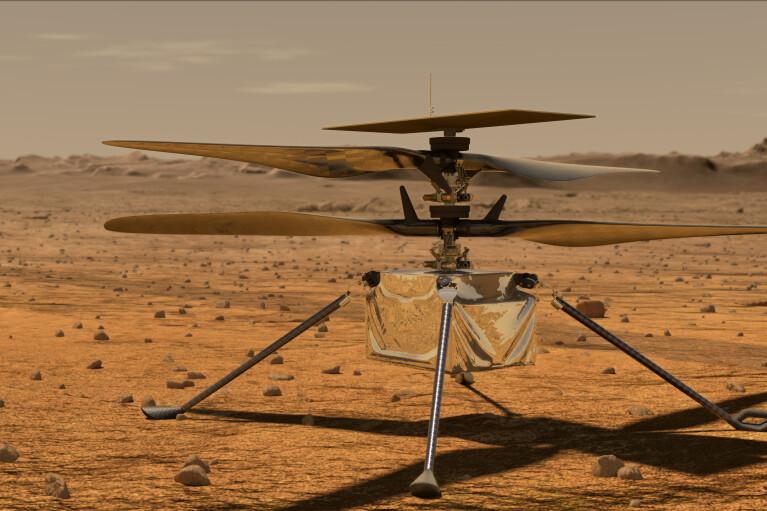 На Марсе наконец-то взлетел первый внеземной вертолет Ingenuity (ВИДЕО)