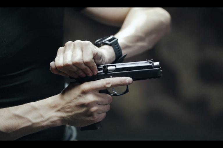 У Києві чоловік стріляв у водія автобуса (ФОТО)
