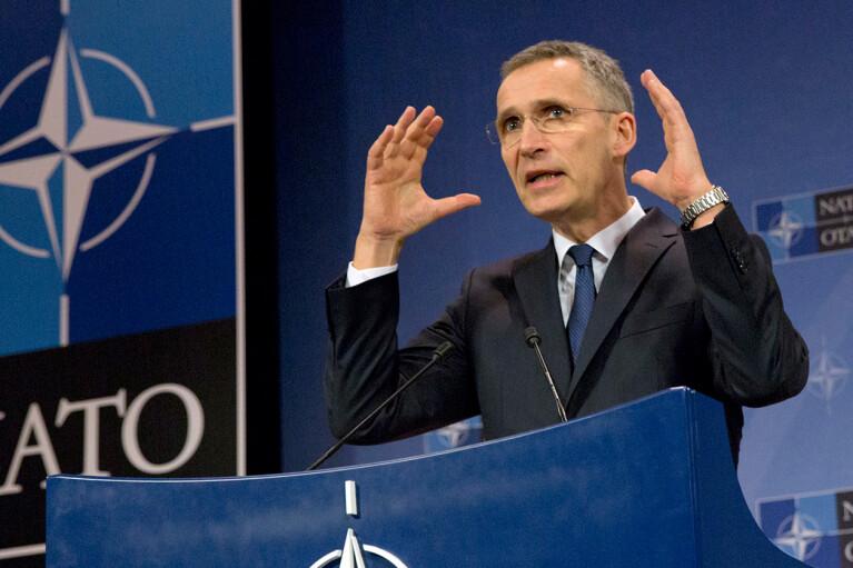 Столтенберг напомнил, что вступление Украины в НАТО не должно волновать Россию
