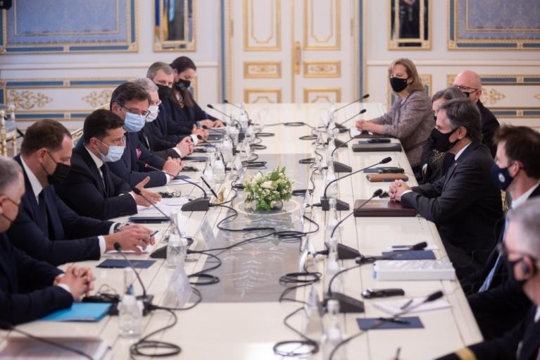 Пресс-конференции Зеленского и Блинкена (ОНЛАЙН)