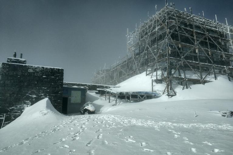 Вночі в Карпатах випало до 20 см снігу (ФОТО)