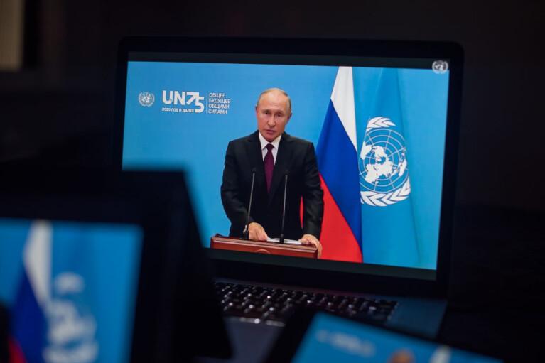 Тоска по Ялте. Как видео-Путин продавал Генассамблее ООН план передела мира и при чем здесь Звездные войны