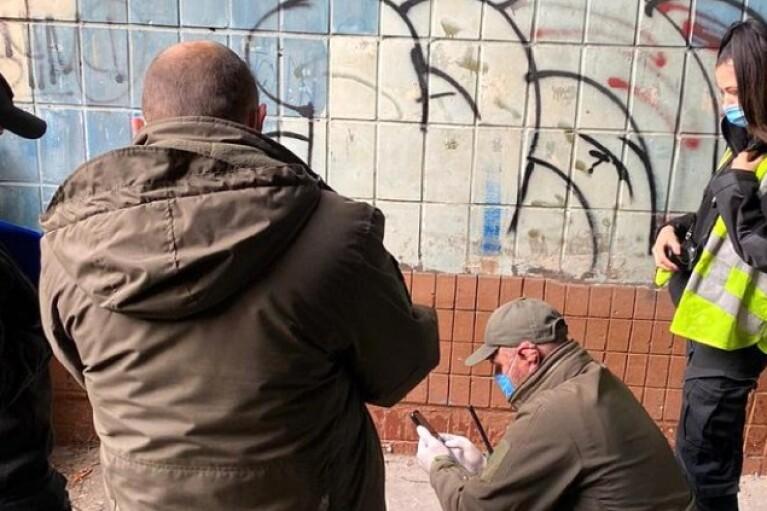 Возле офиса Нацкорпуса в Киеве взорвалась граната (ФОТО)