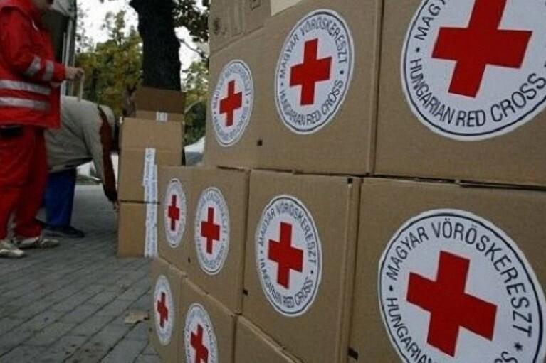 Красный Крест отправил на оккупированный Донбасс новую партию гуманитарки