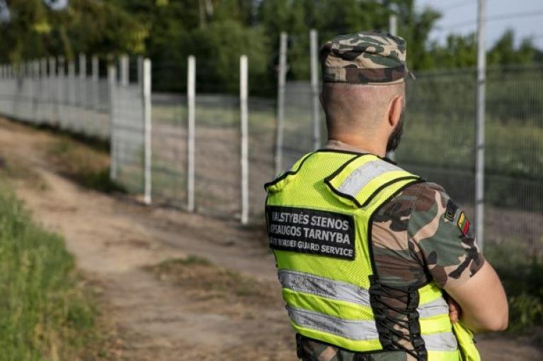 Естонія допоможе Литві з будівництвом стіни на кордоні з Білоруссю