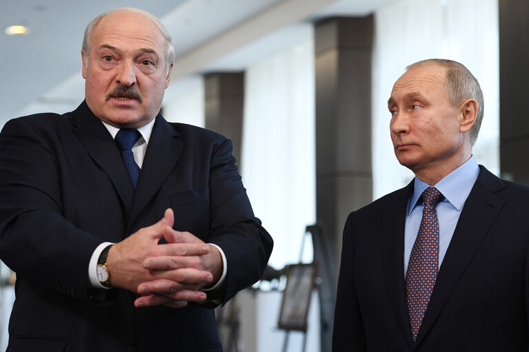 Лукашенко готовий розмістити в Білорусі російську бойову авіацію