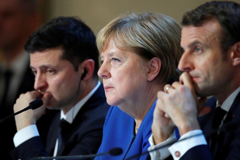 Зеленський назвав себе рівним Меркель і Макрону