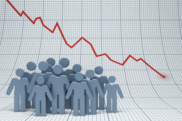 За год смертность в Украине выросла на 17%