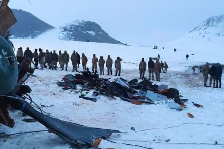 Катастрофа вертолета в Турции: Зеленский выразил соболезнования Эрдогану