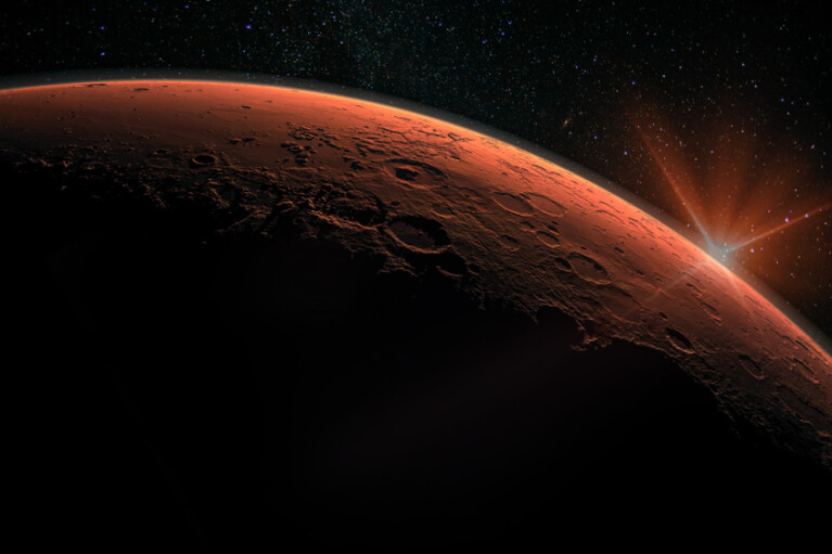 NASA отправит на Марс космический корабль в конце августа (ФОТО)