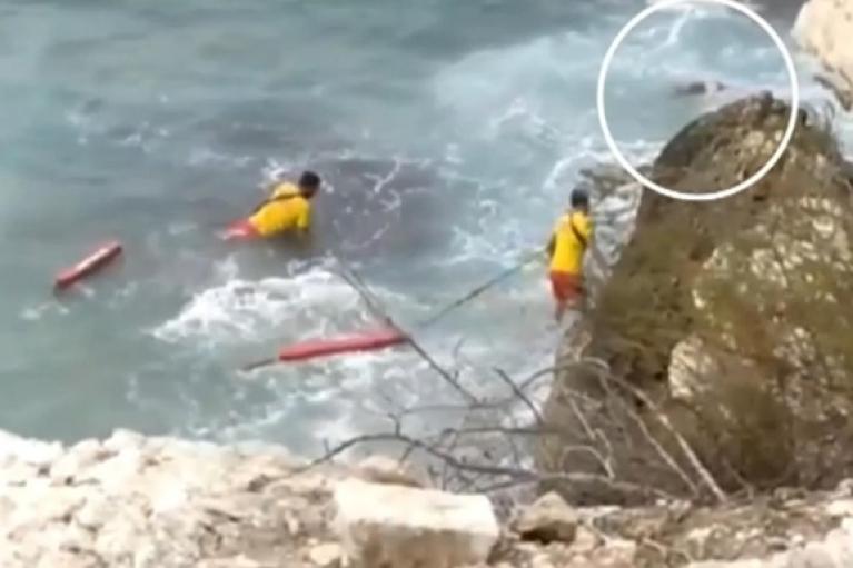В Іспанії українка зірвалася зі скелі, намагаючись зробити селфі (ВІДЕО)