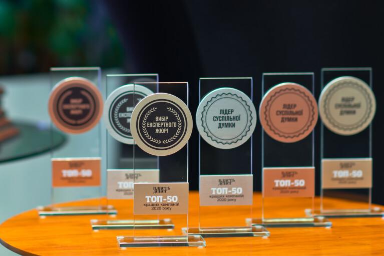 """Журнал """"Власть денег"""" наградил лучшие компании Украины. Кто победил (ФОТО)"""