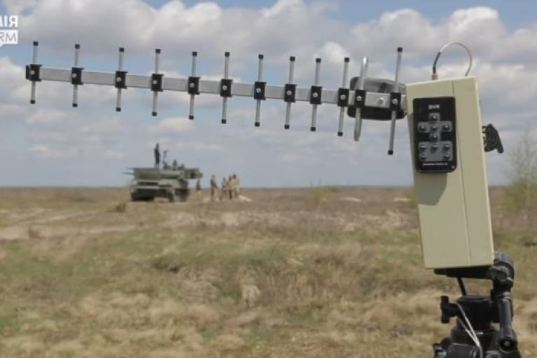 На Ровенщине испытали отечественный аппарат для тренировки войск ПВО (ФОТО, ВИДЕО)