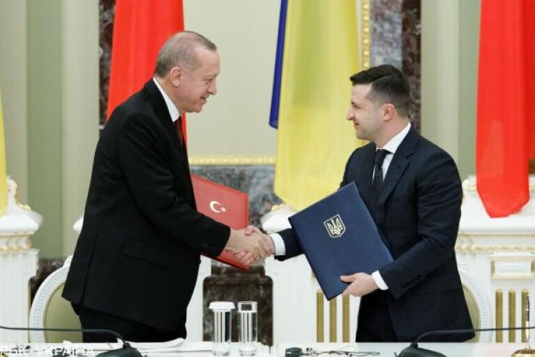 Зеленский в гостях у Эрдогана: появились подробности переговоров