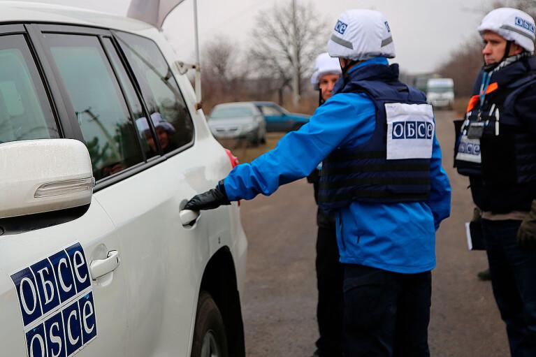 """ОБСЕ """"увидела"""" на Донбассе приверженность боевиков сохранению перемирия"""