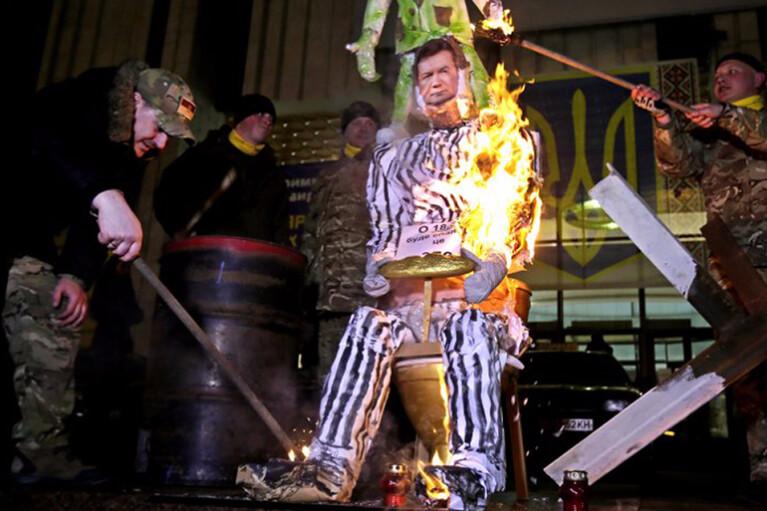 Коли в День свободи на Майдані будуть спалювати опудало Януковича