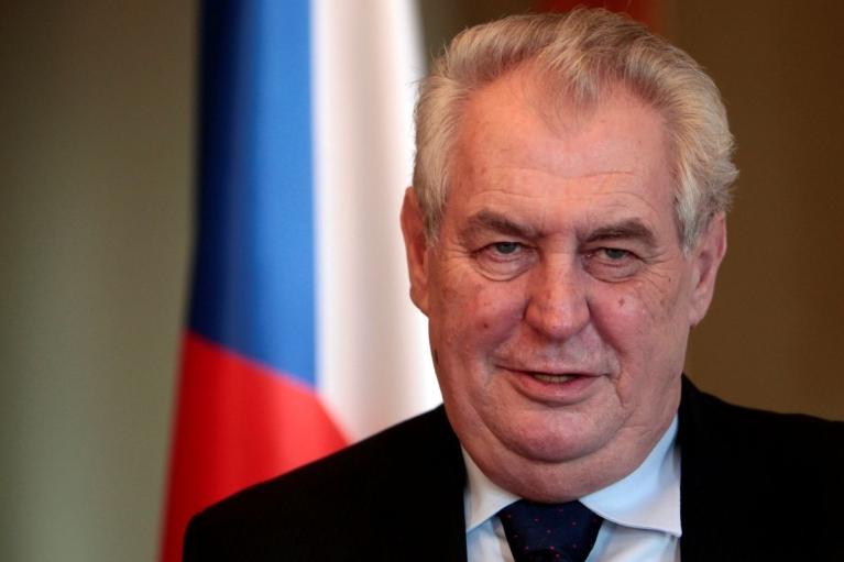 В Чехии начали процедуру лишения полномочий пророссийского президента Земана