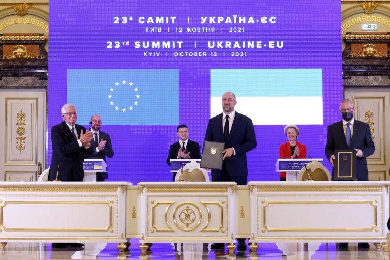 Саммит Украина-ЕС. Что привезли в Киев брюссельские гости