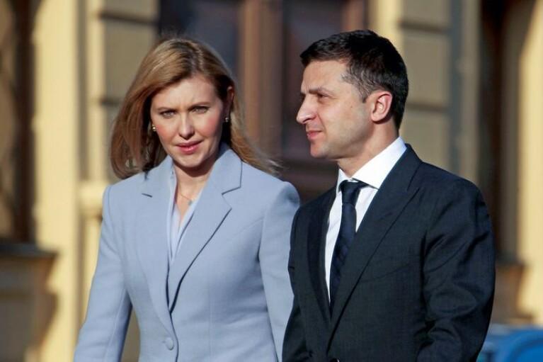 Зеленський вирішив злітати до Парижа разом з дружиною
