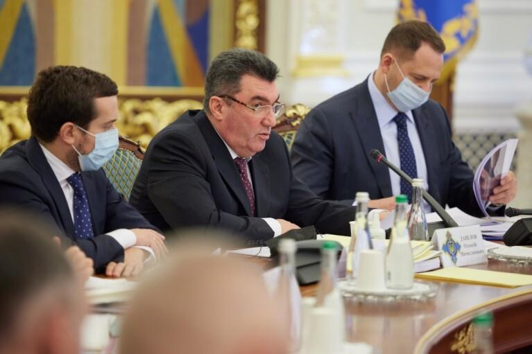 РНБО у п'ятницю — бути: Зеленський офіційно доручив Данілову готувати засідання на 17:00