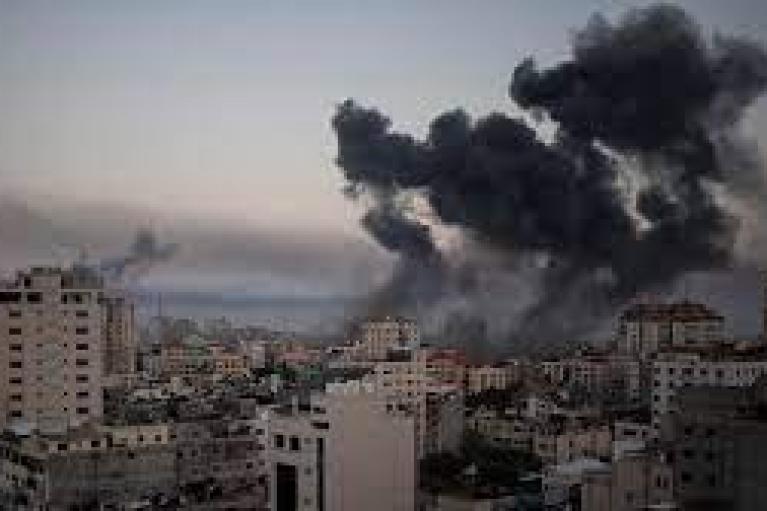Израильские ВВС нанесли удар по дому одного из лидеров ХАМАС
