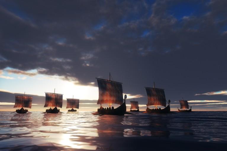 Викинги в солнечную бурю. Когда именно скандинавы поселились в Америке