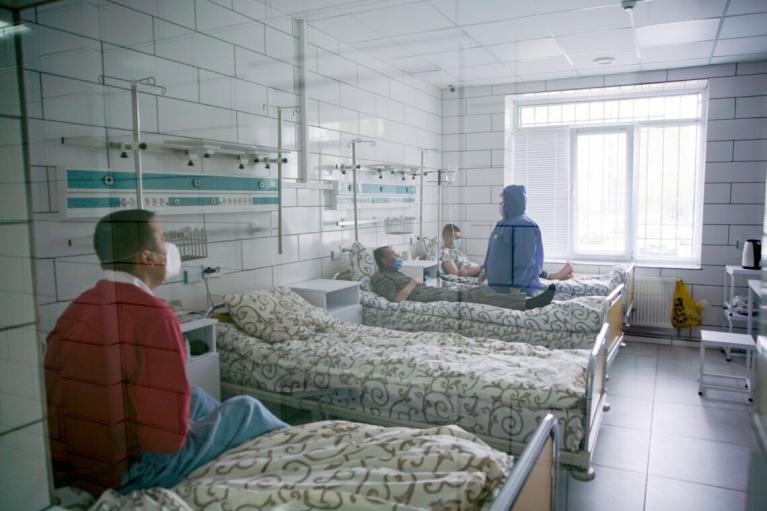У Харкові в COVID-реанімаціях не вакциновані 99,9% пацієнтів