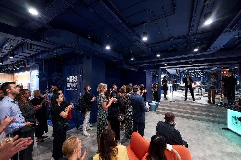 В Киеве открылся первый мультибрендовый магазин бытовой техники премиального сегмента MIRS Home