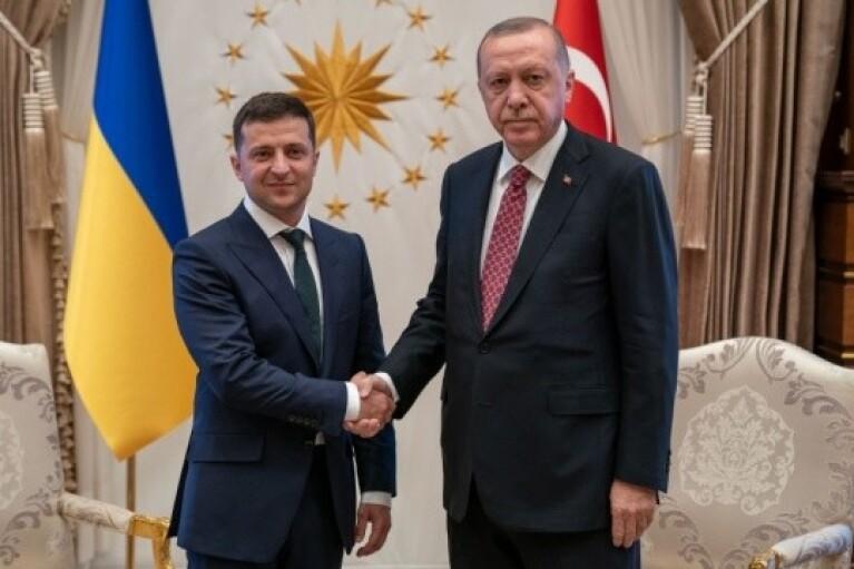 Эрдоган заявил о поддержке суверенитета Украины и хочет развивать партнерство