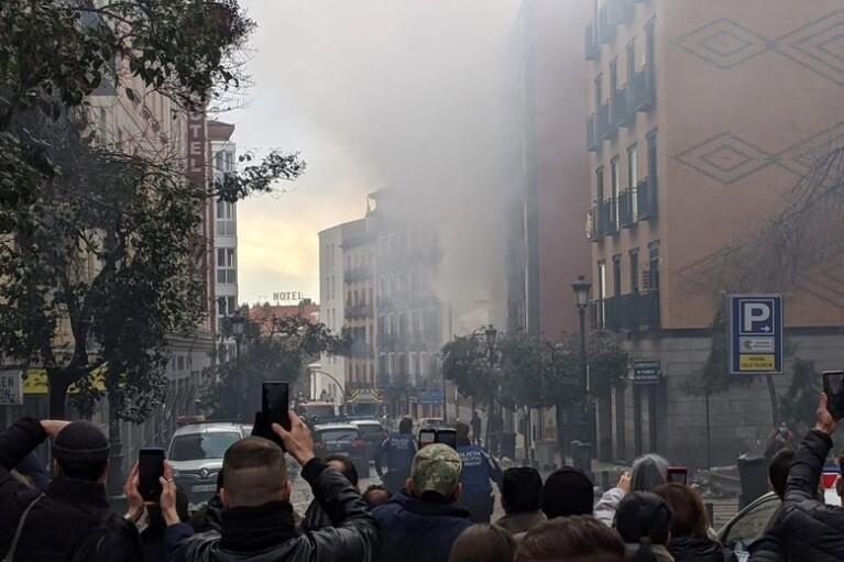 У центрі Мадрида прогримів потужний вибух (ФОТО, ВІДЕО)