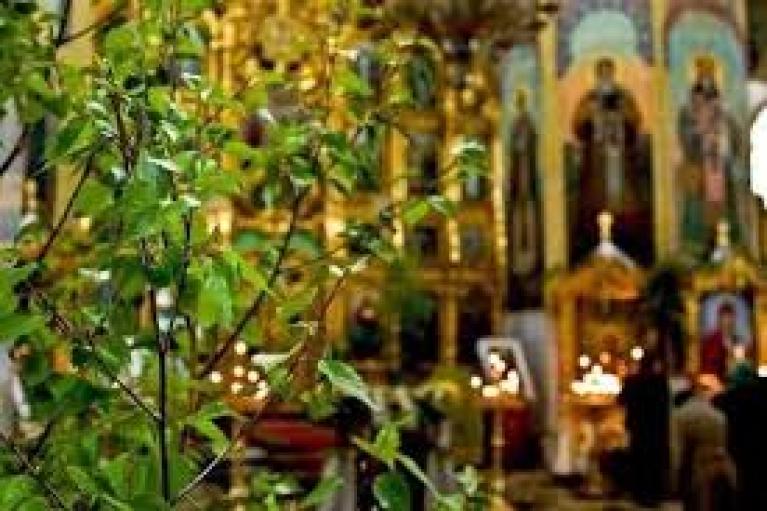 Христиане восточного обряда празднуют Троицу