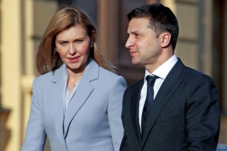 Зеленский с женой прибыли в Париж (ФОТО, ВИДЕО)