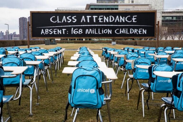 У ЮНІСЕФ назвали головні загрози закриття шкіл через карантин