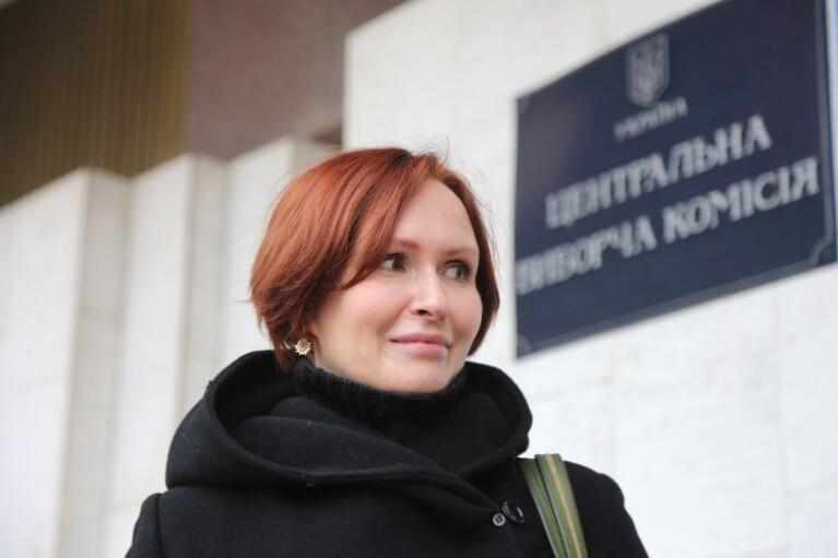 """ЦИК зарегистрировала Кузьменко кандидатом в нардепы от """"ЕС"""" по округу №50"""