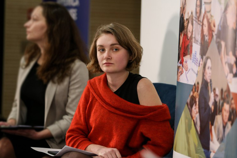 Руководитель Veteran Hub Ивона Костина: Каждый 65-й украинец имеет опыт участия в АТО