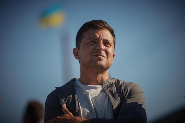 Зеленський емоційно відреагував на першу гру збірної України на Євро-2020
