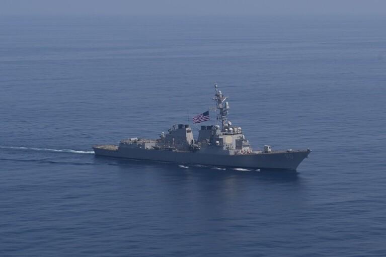 К Черному морю направляются два американских эсминца