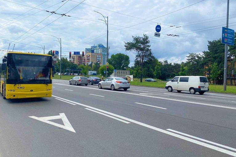 В Киеве из-за триатлона изменили схему движения транспорта (КАРТА)