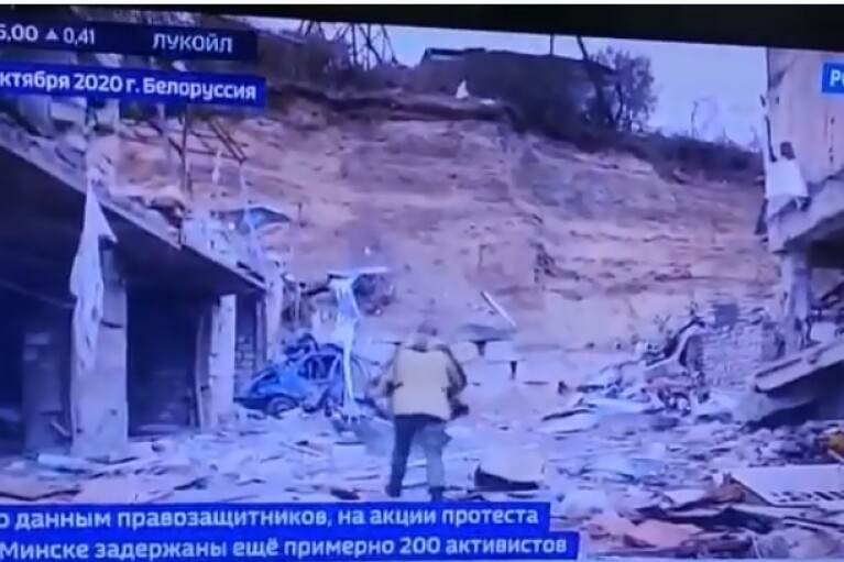 Російські пропагандисти видали кадри з Нагірного Карабаху за протести в Білорусі (ВІДЕО)
