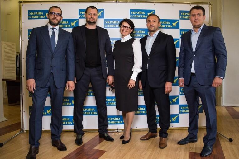 """Політична партія """"УКРАЇНА СЛАВЕТНА"""" висунула 1488 кандидатів в обласну та місцеві ради Київщини (ФОТО, ВІДЕО)"""