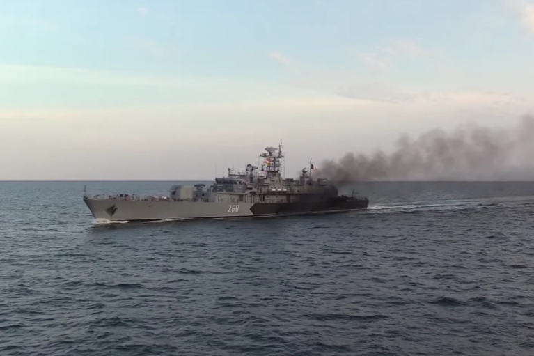 """Украина """"потренировала"""" корабли с Румынией в Черном море"""