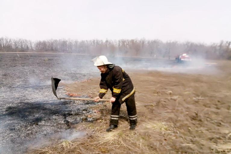 ГСЧС объявила чрезвычайную пожарную опасность в большинстве регионов Украины