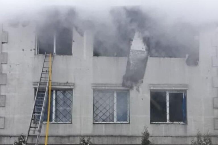 В Харькове загорелся дом престарелых, погибли не менее 15 человек