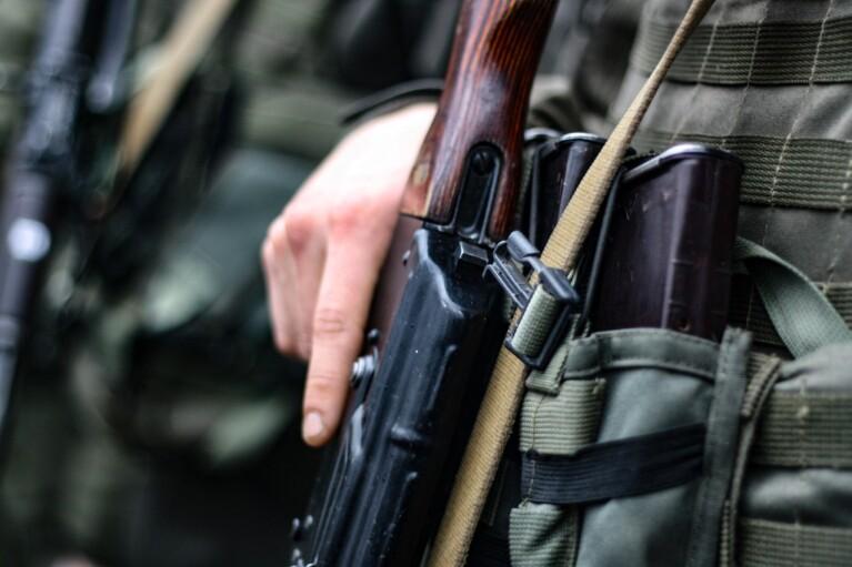 Українські військові на Донбасі знешкодили безпілотник бойовиків