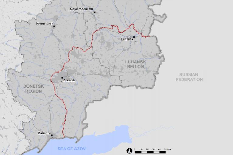 "ОБСЕ за сутки зафиксировала почти 50 нарушений ""тишины"" на Донбассе"