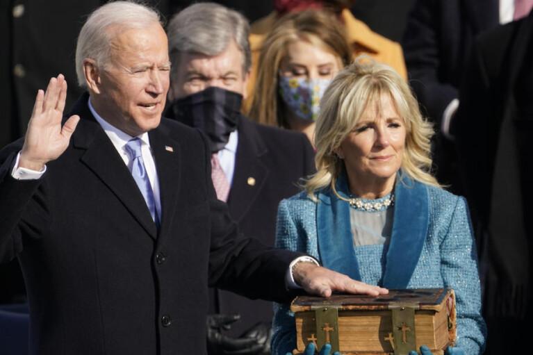 Байден прийняв присягу і вступив на посаду президента США
