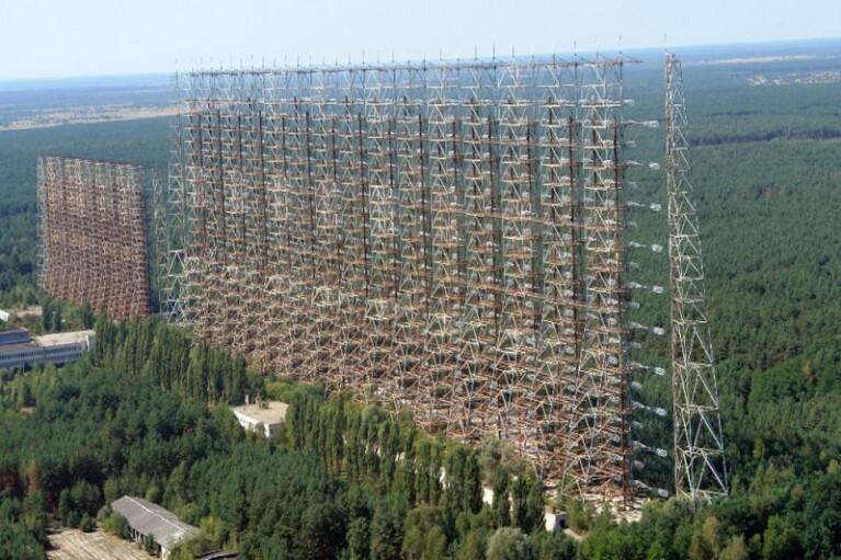 """Радиолокационная станция """"Дуга"""" в Чернобыле стала памятником Украины (ФОТО)"""