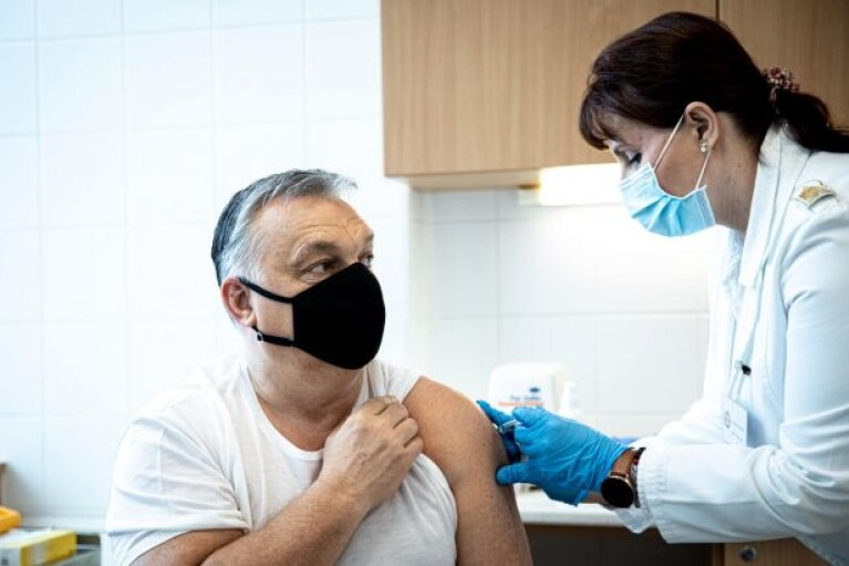 """Орбан щепився китайською вакциною: каже, що """"довіряє"""""""